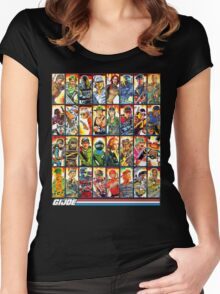 G.I. Joe in the 80s! Women's Fitted Scoop T-Shirt