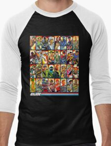 G.I. Joe in the 80s! Men's Baseball ¾ T-Shirt