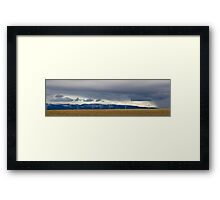 Valley of Giants Framed Print