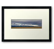 Valley of Giants Framed Print