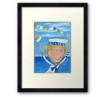 Sailor Fyn Framed Print