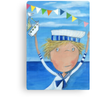 Sailor Fyn Canvas Print