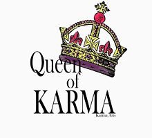 QUEEN OF KARMA Womens Fitted T-Shirt