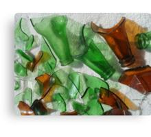 Glass... Canvas Print