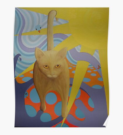 Shadow Cat Poster