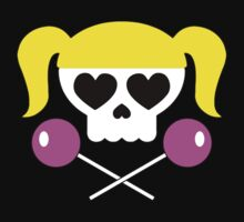 Lollipop Chainsaw She Skull T-Shirt