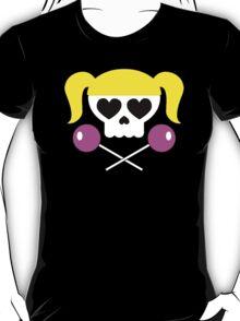 Lollipop Chainsaw She Skull T-Shirt