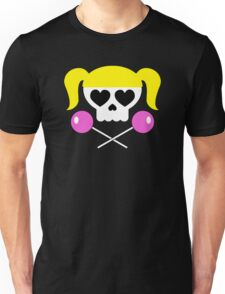 Lollipop Chainsaw She Skull Unisex T-Shirt