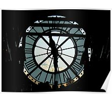 L'Horloge du Musée d'Orsay Poster