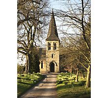 St Mary's Church, Sand Hutton Photographic Print