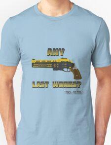 Destiny- Last Word- Any Last Words?- T-Shirt