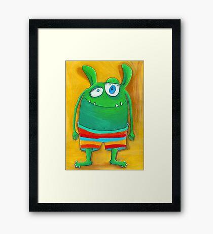 Mrs. Monster Framed Print