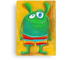 Mrs. Monster Canvas Print