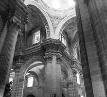 Cathedral Interior by tkubiena