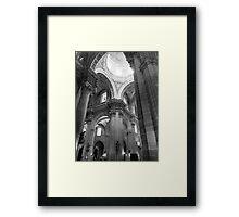 Cathedral Interior Framed Print