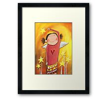 Sweet Angel Framed Print