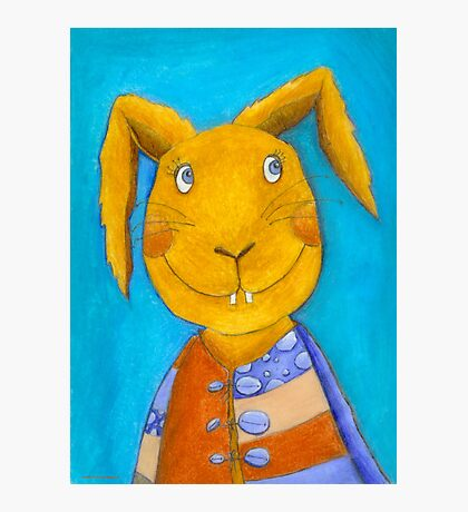 Mr. Rabbit  Photographic Print