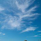 Weaving Clouds Above Signal Tower by tkubiena