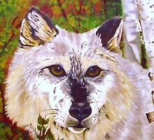 Faces of the Canadian Wilderness Series- Timberwolf  by EarthSpiritStar