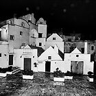 Martina Franca at night... by Rebecca Dru