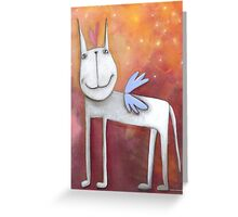 Angel Horse Greeting Card