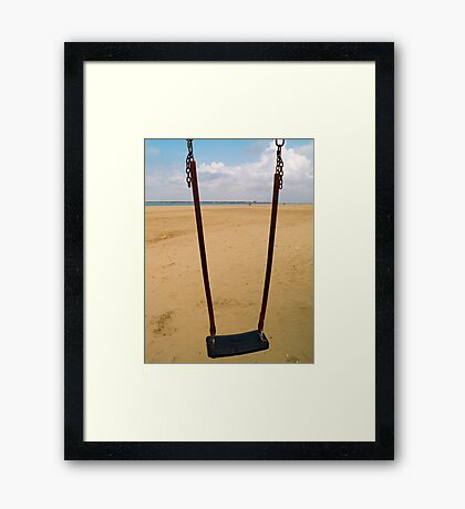 Swing Framed Print