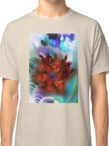bouquet of purple and red flower Classic T-Shirt