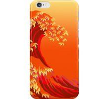 Hokusai Anger iPhone Case/Skin