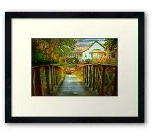 Where the Heart Is - The Cedars, Hahndorf, Adelaide Hills, SA Framed Print