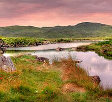 Green Hills of Ireland - The Connemara, Co. Galway, Ireland by Mark Richards