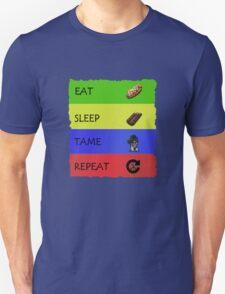 ARK EAT SLEEP TAME REPEAT Unisex T-Shirt