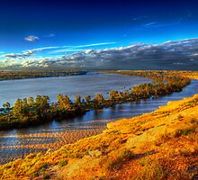 High Water - The River Murray, South Australia by Mark Richards