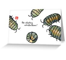 fifa world cup: armadillidiidae league (episode 2) Greeting Card