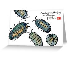 fifa world cup: armadillidiidae league (episode 1) Greeting Card