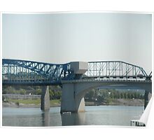 Walnut Street Bridge Poster