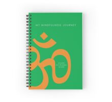 7 DAY'S OF SUMMER-YOGA ZEN RANGE-NAMASTE GREEN NOTEBOOK Spiral Notebook