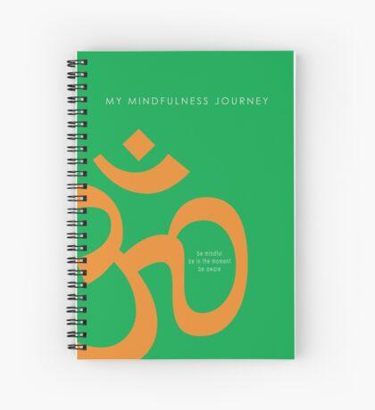 7 DAY'S OF SUMMER-YOGA ZEN RANGE-NAMASTE GREEN NOTEBOOK Spiral Notebook