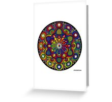 Mandala 42 Rainbow Prints, Cards & Posters Greeting Card