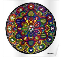 Mandala 42 Rainbow Prints, Cards & Posters Poster