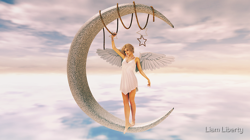 Moon Angel by Liam Liberty