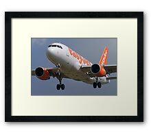easyJet G-EZDX Airbus 319-111 Framed Print