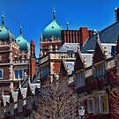USA. Philadelphia. University of Pennsylvania. by vadim19