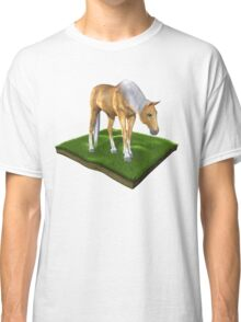 3D Horse Classic T-Shirt