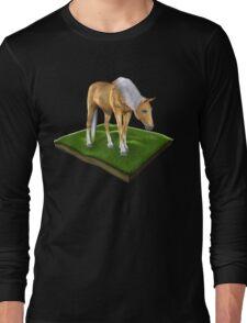 3D Horse Long Sleeve T-Shirt