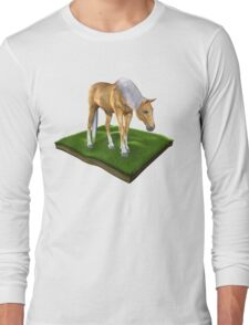 3D Horse Long Sleeve T-Shirt