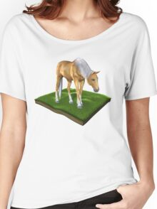 3D Horse Women's Relaxed Fit T-Shirt