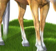 3D Horse Sticker