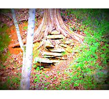 Leveled Rocks Photographic Print