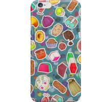 I Love Mexican Candy - Aquamarine iPhone Case/Skin