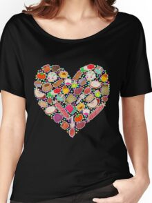 I Love Mexican Candy - Aquamarine Women's Relaxed Fit T-Shirt